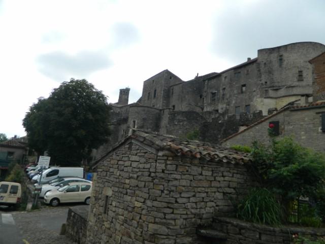 Les remparts de Cordes